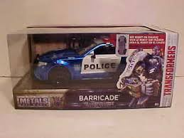 transformers ford mustang transformers last ford mustang barricade car 1 24