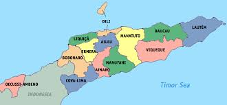 Map Of Th World by Maps Of East Timor Detailed Map Of East Timor Timor Leste In