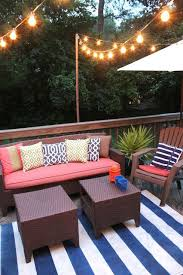 How To Decorate Decks And Patios Best 25 Patio Set Up Ideas On Pinterest Patio Furniture Redo