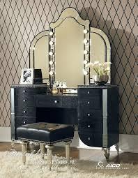 Vanity Table With Tri Fold Mirror Vanities Cheap Black Vanity Table With Mirror Black Vanity Set