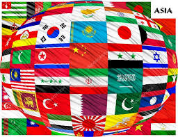 Flags Countries Collage Of The Flags Of Asian Countries U2014 Stock Photo Zloyel