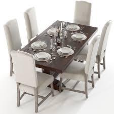 pottery barn banks table u0026 ashton chairs