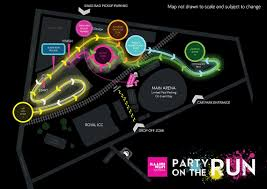 Map Run Route by Lorac Designs Illumi Run Route Map 2015