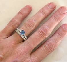 simple sapphire engagement rings ceylon sapphire engagement ring with milgrain detail and