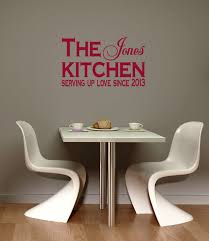 show love on your walls decorate your home with wall decals kitchen customized wall decals