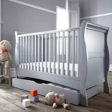 Sleigh Cot Bed Izziwotnot Bailey 2 Sleigh Cot Bed Bed Drawer Set Ebay