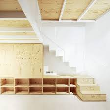 Attic Stairs Design Compact Stairs The Step Towards A Happy Tiny Home