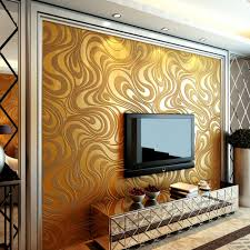 Living Room Ideas Gold Wallpaper Aliexpress Com Buy Beibehang Gold Mural Wall Paper Curve
