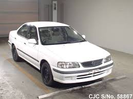 nissan cima 2005 2000 nissan sunny white for sale stock no 58867 japanese used