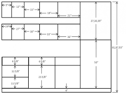 dimensions of kitchen cabinets parts cabinet size list standard