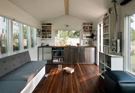 Modern Tiny House Man Builds Modern 210 Sq Ft Tiny Home Minim Home