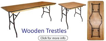 trestle tables for sale banqueting tables folding tables