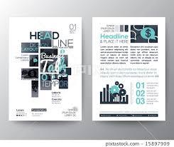 flyer graphic design layout poster brochure flyer design layout template stock illustration