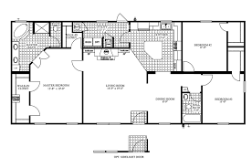 mobile floor plans 4 bedroom double wide mobile home floor plans