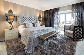 Wallpaper Design Ideas For Bedrooms 20 Trendy Bedrooms With Striped Accent Walls