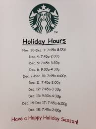starbucks open thru week olin blogolin