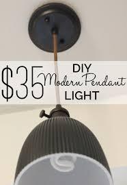Pendant Light Diy 35 Diy Modern Pendant Light Modern