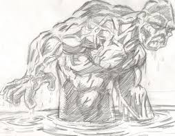 blalock u0027s robots and monsters the process drawing swamp thing