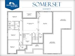 somerset floor plan rambler new home design nilson homes