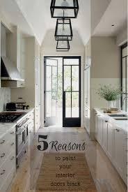 kitchen interior doors door drama 5 reasons to black interior doors