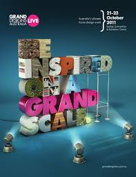 print ad grand designs live be inspired on a grand scale