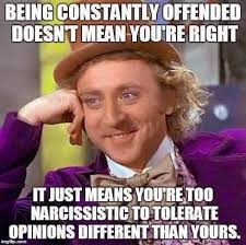 You Re Right Meme - being constantly offended doesn t mean you re right