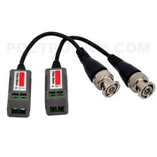 bc01 220 350m cctv video balun passive twisted pair transmitter