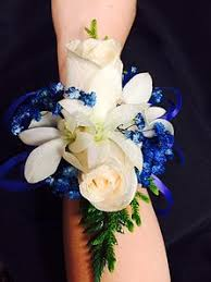 blue corsages for prom proms boutonneres and corsage