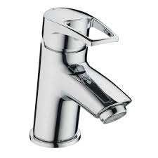 bristan smile basin mixer sm bas c deck mounted chrome bristan smile mono basin mixer tap single handle with clicker waste chrome