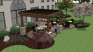 Ideas For Backyard Patios Garden Design Garden Design With Deck Patio Designs With