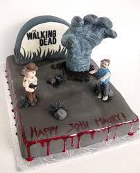 walking dead cake ideas walking dead birthday cake ideas a birthday cake