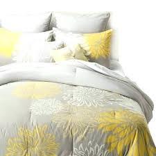 Yellow And Gray Crib Bedding Set Yellow Gray And White Bedding Conceptcreative Info