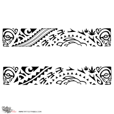 collection of 25 traditional maori ankle band