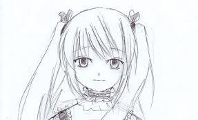 cute anime girls to draw
