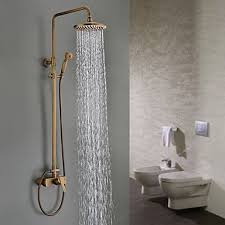 Bathroom Incredible Best Luxury Wall Mounted Brass Rainfall Shower - Faucet sets bathroom 2