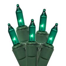 set of 100 teal green mini christmas lights green wire walmart com