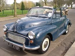 classic chrome morris 1000 1967 f blue