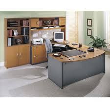 U Shaped Reception Desk Bush Series C Corsa L Shaped Reception Desk Natural Cherry Ships Free