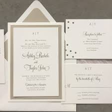 Wedding Invitation Suite Sample Layered Modern Initials Wedding Invitation Suite U2013 Cardinal