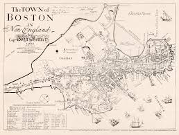 Old Boston Map by Cool Old Maps Cool Old Photos
