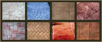 Patio Concrete Tiles Concrete Patio Color Chart And Pattern Chart