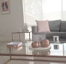 grey living room blush copper grey beautifully designed spaces pinterest