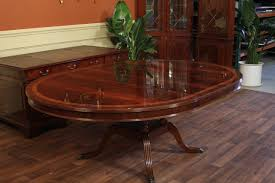 mahogany dining room table round to oval dining room table round dining table with leaf