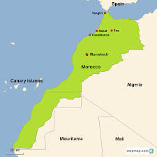 Morocco Africa Map by Morocco Vacations With Airfare Trip To Morocco From Go Today