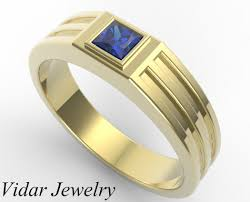 rings design for men men s blue sapphire wedding band vidar jewelry unique custom