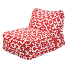 Patio Furniture Home Goods by Amazon Com Majestic Home Goods Red Links Outdoor Bean Bag Chair