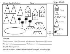 compass rose worksheet compass rose map skills and compass