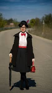 miss green easy diy halloween costume mary poppins
