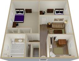 Free Dollhouse Floor Plans by Towson Place Apartments