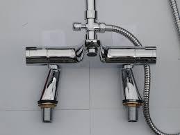 convert bath taps to shower showers decoration deck thermostatic bath shower mixer taps rigid riser rain head pencil hand shower